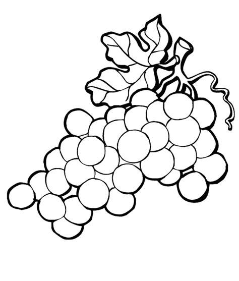 coloriage de cuisine coloriage feuille vigne raisin