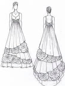 Wedding Dress Design Sketch
