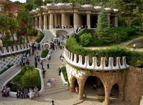 exterior wall things to do in barcelona visit park guëll