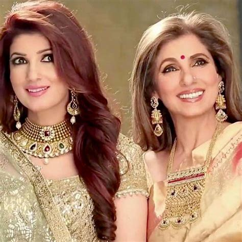 Twinkle Khanna's picture with mother Dimple Kapadia