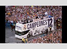 Real Madrid Celebración de la Duodécima en Cibeles