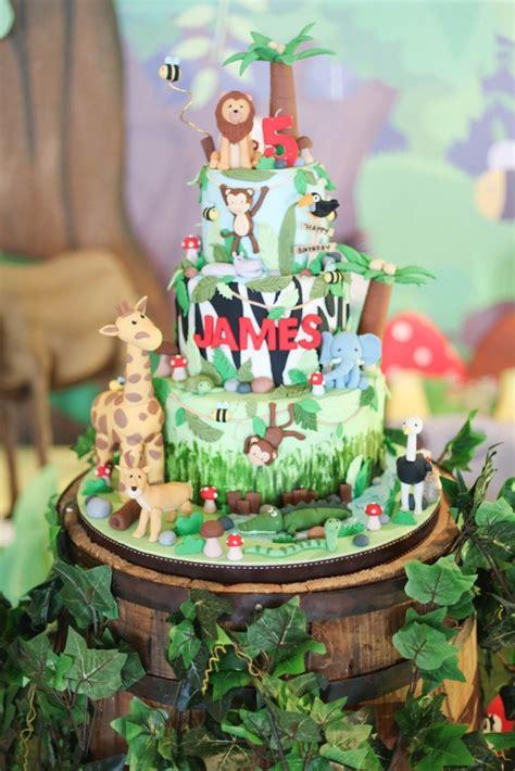 Kara's Party Ideas Jungle Animals Birthday Party Kara's