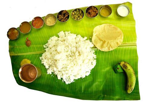 south indian meals tamilnadu andhra kerala