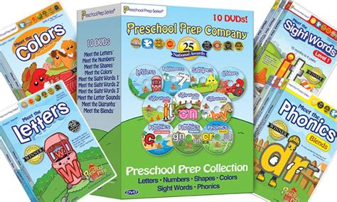 preschool prep dvd set groupon goods 109 | c700x420