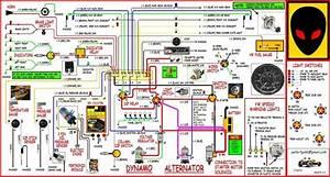 Simple Wiring Diagram Vw Dune Buggy