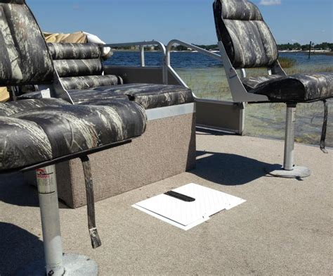 Used Pontoon Boats Without Motor by Pontoon Boat Trolling Motor Install Images