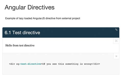 angular directive template how to automate style guide driven development smashing magazine