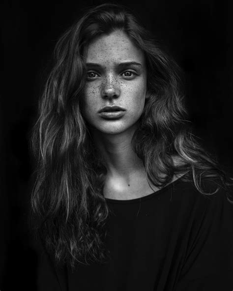 Beautiful Portraits Of People With Freckles By Agata Serge