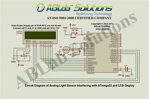 Analog Light Sensor Interfacing With Avr Atmega32