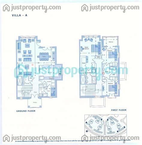 towers villas floor plans justpropertycom
