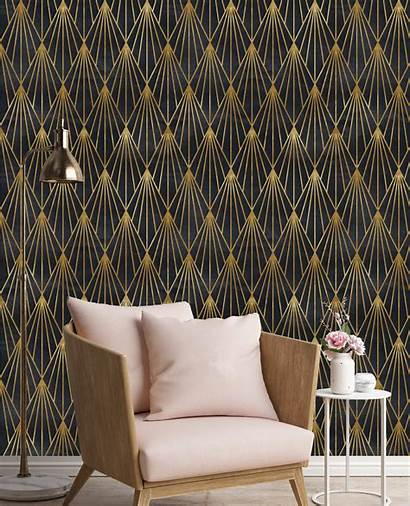 Removable Peel Stick Gatsby Mural Roll Deco