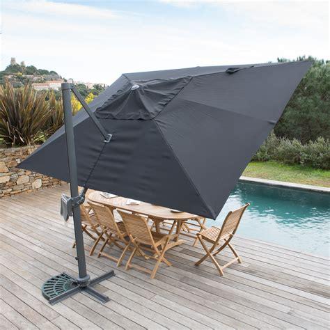 parasol deporte rectangulaire 3x4m