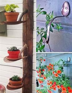 Ausgefallene Gartendeko Selber Machen : idee f r gartendeko selber machen mit spaten freshouse ~ Frokenaadalensverden.com Haus und Dekorationen