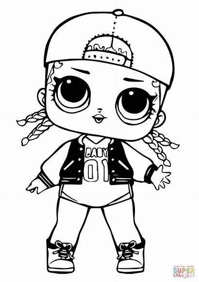 Coloring Lol Doll Pages Swag Mc Drawing