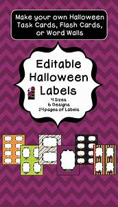 Halloween labels and gift tags halloween labels for How to print your own labels at home