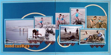 Double Up No 8 | Scrapbook layouts, Scrapbook and Layouts
