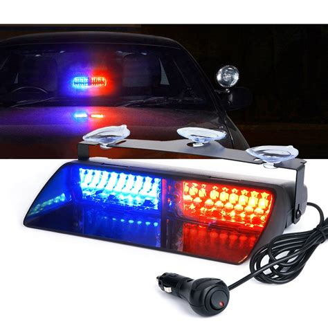 Blue Emergency Lights by Xprite Blue 16 Led High Intensity Led