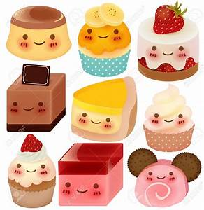Cute Cartoon Desserts | www.pixshark.com - Images ...