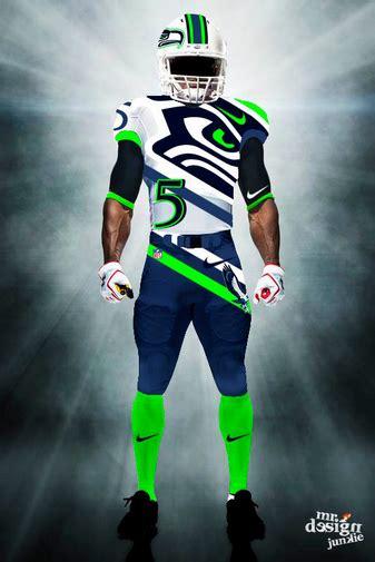 design junkie creates awesome concept nfl uniforms