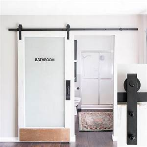 21 exciting ways to use sliding door hardware to spruce up With barn door closer