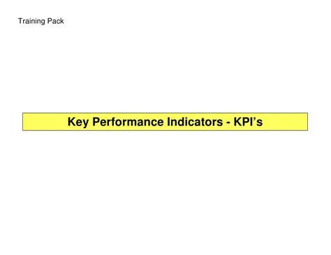 service desk key performance indicators key performance indicators kpi 39 s