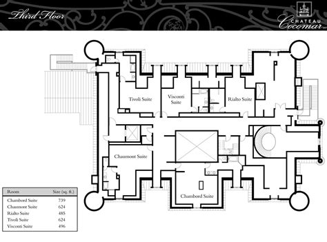 chateau floor plans floor plans chateau cocomar luxamcc