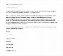 Recommendation Letter For College Template Resume Builder Recommendation Letter For College Sample Sample Letter Nathan Shearer Reference Letters College Recommendation Letter Letter Of Recommendation