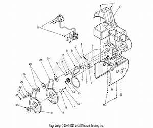 Mtd 31ae662h013  2000  Parts Diagram For Engine And V