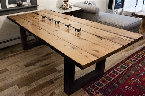 reclaimed dining table top reclaimed pine dining table
