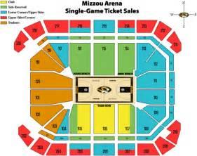 Mizzou Arena Basketball Seating Chart