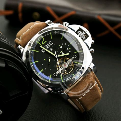 Jam Tangan Luminox Automatic jual jam tangan luminor panerai 12 tourbillon automatic di