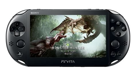 Monster Hunter World Looks Great On Ps Vita Via Remote Play