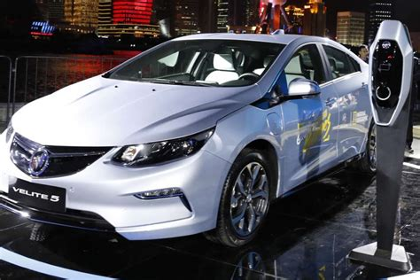 Chinese Electric Cars Set To Make Waves At Shanghai Motor