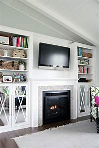 Built Ins Around Fireplace Diy - DIY Projects