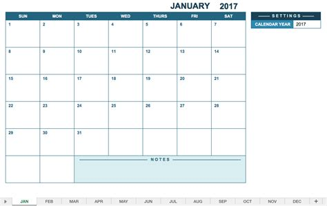 12 month calendar template 2017 12 month calendar excel calendar monthly printable
