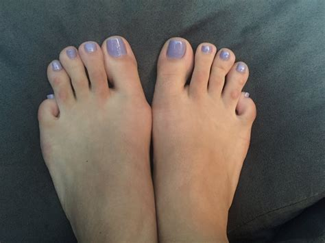 Please excuse my ugly toes, but the pedicure polish is