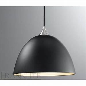 Franklite fl  black glass single pendant light
