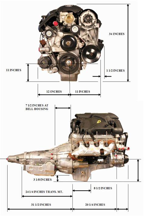 Gm 5 3 Engine Diagram by Engine Dimensions Bd Turnkey Engines Llc