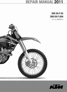 Ktm 350 Sx-f 2006-2011 Factory Service Repair Manual Download Pdf