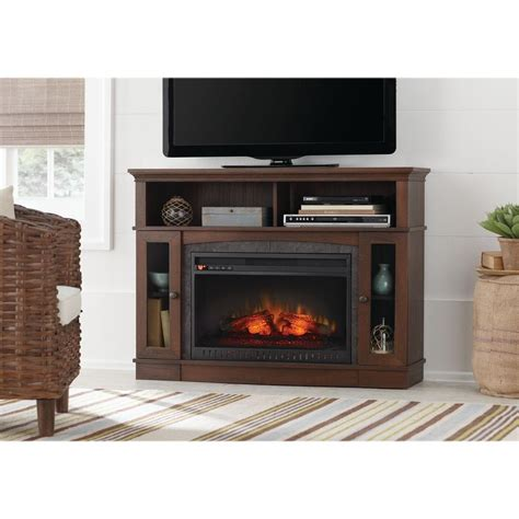 media fireplace tv stand home decorators collection grafton 46 in tv stand 7417