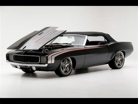 1969 chevrolet camaro convertible supercar by modern
