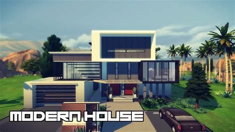 home design for sims 4 modern house design the sims 4 youtube