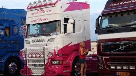 scania  girl power mk transporter sweden extrior hd