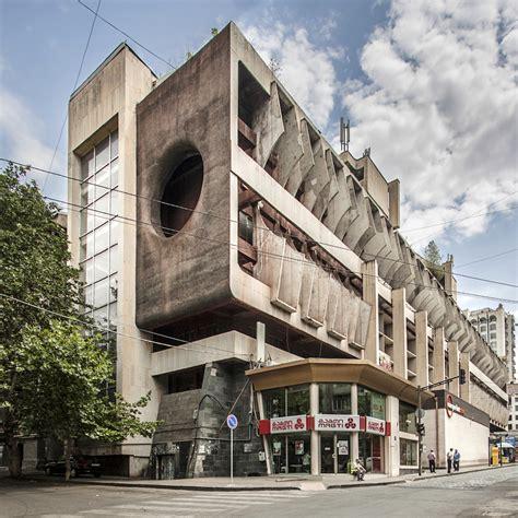 Impressive Soviet Architecture In Georgia  Fubiz Media