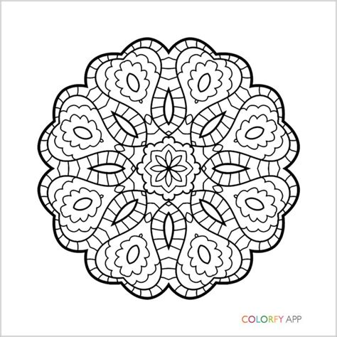colorfy coloring book app coloring pages