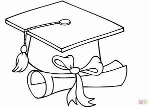 Preschoolcoloringbook Graduation Coloring Page - Free ...