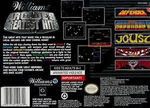 Williams Arcade's Greatest Hits Box Shot for Super ...