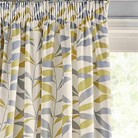 thermal lined curtains lewis buy lewis lina leaf thermal lined pencil pleat
