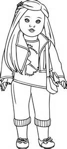 American Girl Coloring Pages Printable