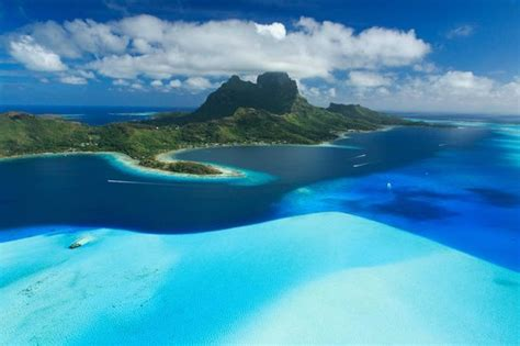 Breathtaking Views Picture Tahiti Helicopters Bora